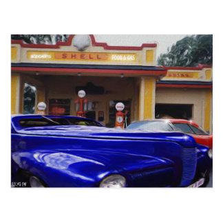 Gas Station Postcards