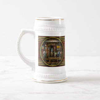 Gas Station - Sunday afternoon - 1939 Beer Stein