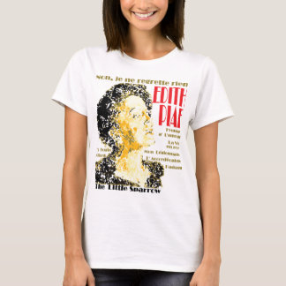 GAS T - Edith Piaf, No Regrets T-Shirt