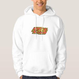 GAS T - GAS Retro logo C 1971. Hooded Sweatshirts