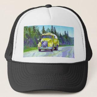 Gas Tanker Highway Driving Trucker Hat Series