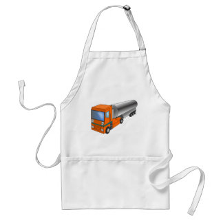 Gas Tanker Truck Heavy Transporter for Kids Adult Apron