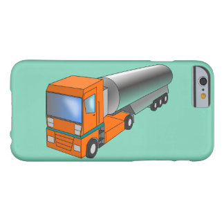 Gas Tanker Truck Heavy Transporter for Kids Barely There iPhone 6 Case