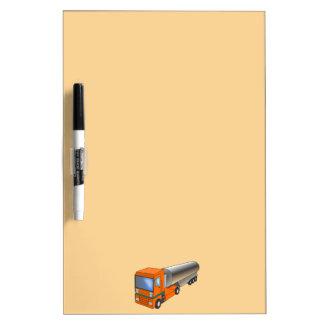Gas Tanker Truck Heavy Transporter for Kids Dry-Erase Board