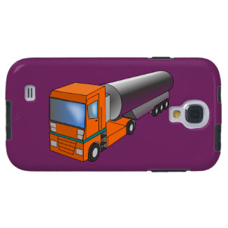 Gas Tanker Truck Heavy Transporter for Kids Galaxy S4 Case