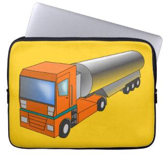 Gas Tanker Truck Heavy Transporter for Kids Laptop Sleeves