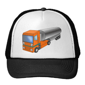 Gas Tanker Truck Heavy Transporter for Kids Trucker Hat
