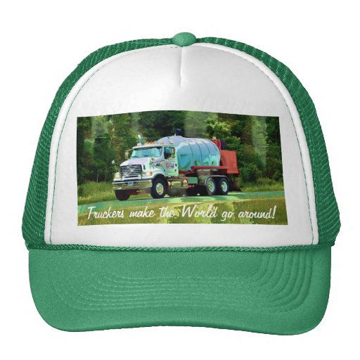 Gas Tanker Truck Lorry Truck Driver Hat