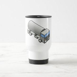 Gas truck.ai stainless steel travel mug
