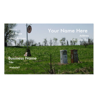110 Gas Pump Business Cards and Gas Pump Business Card