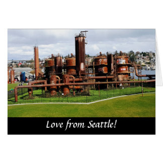 Gas Works Park Seattle Greeting Card