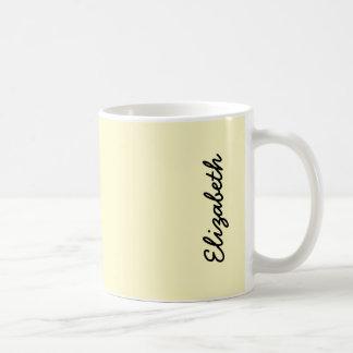 Gasa del limón tazas de café
