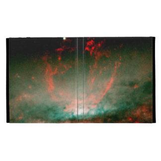 Gaseous Bubble in Core of Galaxy NGC 3079 iPad Folio Cover