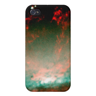 Gaseous Bubble in Core of Galaxy NGC 3079 Cases For iPhone 4