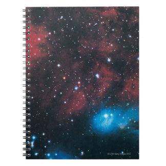 Gaseous Nebula in Cygnus Notebook