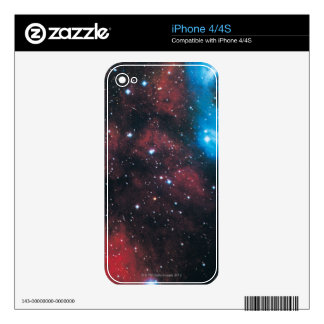 Gaseous Nebula in Cygnus Decal For The iPhone 4S