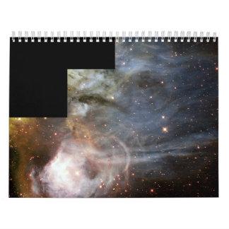 Gaseous Streamers from Nebula N44C Flutter Calendar