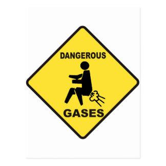 Gases peligrosos postales