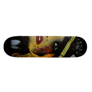 'Gashes & Lashes' Skateboard