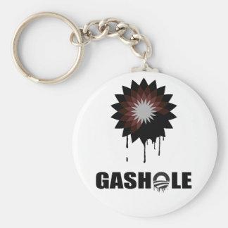 GASHOLE - BASIC ROUND BUTTON KEYCHAIN