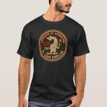 Gashouse Gorillas Logo Feat. Pitcher T-Shirt