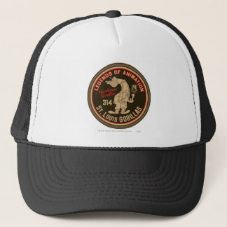 Gashouse Gorillas Logo Feat. Pitcher Trucker Hat