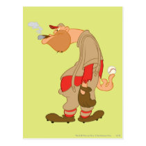 Gashouse Gorillas Pitcher Postcard