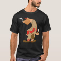 Gashouse Gorillas Pitcher T-Shirt