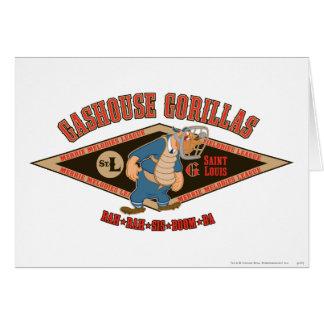 Gashouse Gorillas Rah Rah Sis Boom Ba Card