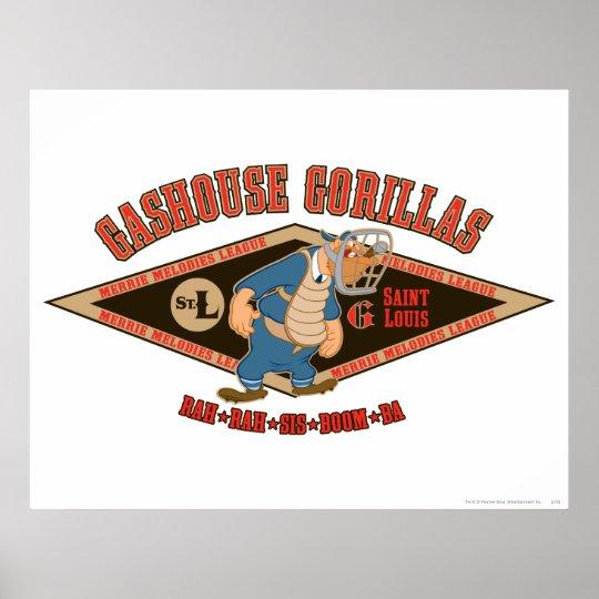 Gashouse Gorillas Rah Rah Sis Boom Ba Poster