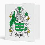 Gaskell Family Crest Binder