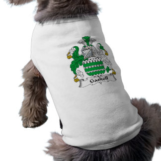 Gaskell Family Crest Dog Tee