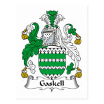Gaskell Family Crest Postcard