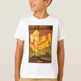 Gasket Geyser Illustration T-Shirt