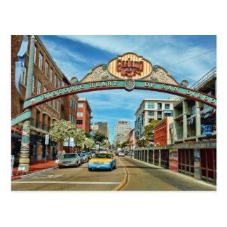Gaslamp District San Diego Postcard