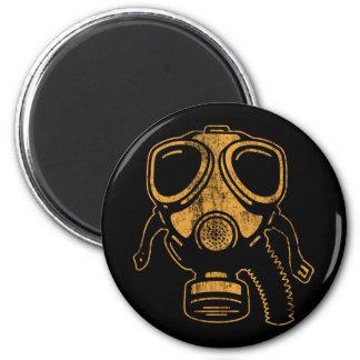 gasmask2 2 inch round magnet