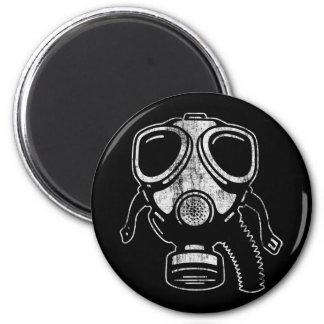 gasmask3 2 inch round magnet
