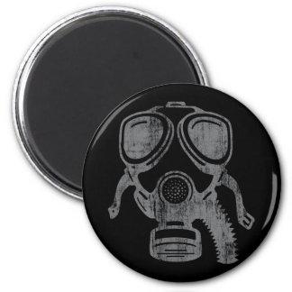 gasmask4 2 inch round magnet
