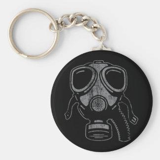 gasmask4a basic round button keychain