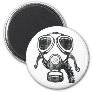 gasmask 2 inch round magnet