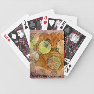 Gasmask Bicycle Playing Cards