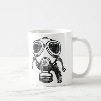 gasmask coffee mug