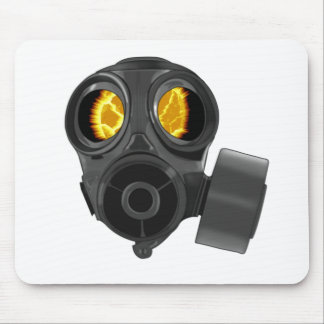 gasmask de la apocalipsis tapete de ratones