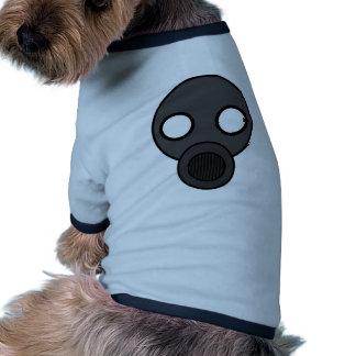 gasmask doggie tee shirt