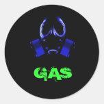 gasmask, GAS Etiquetas