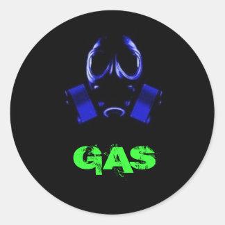 gasmask GAS Etiquetas