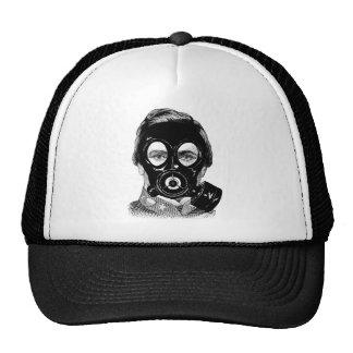 Gasmask Man Trucker Hat