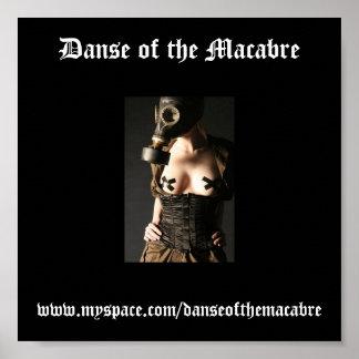 Gasmask-Moda-Fetiche, Danse del macabro, w… Póster