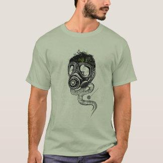 Gasmask & Nature T-Shirt