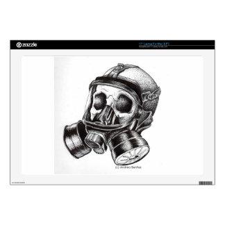 GasMask Decals For Laptops